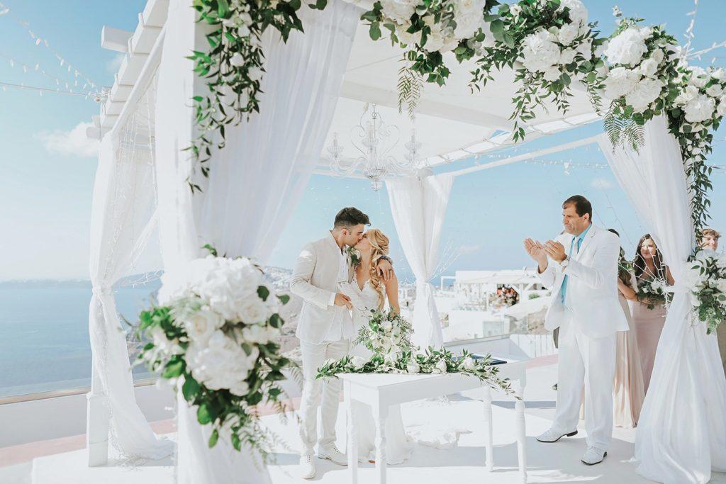 Официальная регистрация брака в Греции