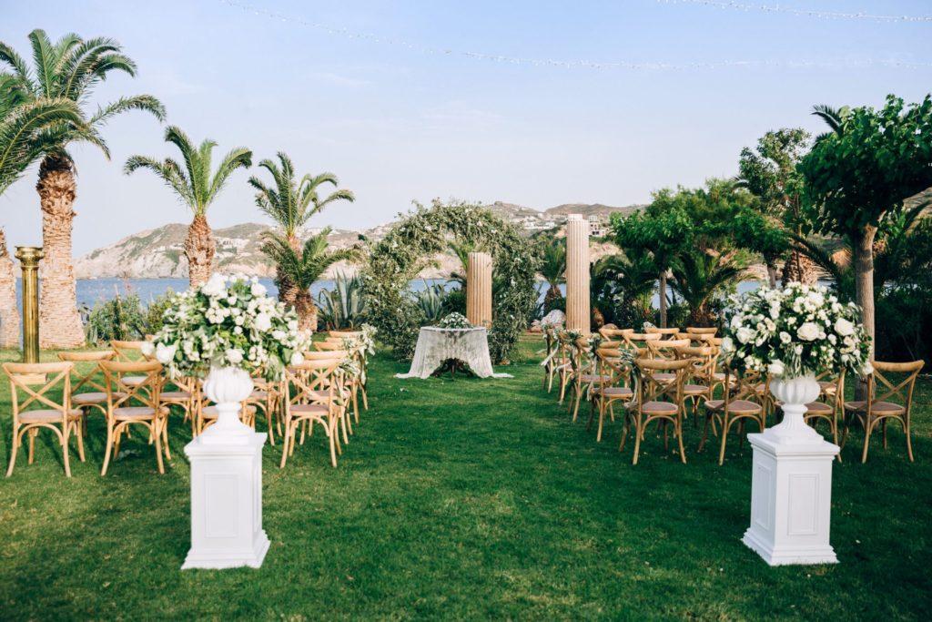 Организация свадьбы в Греции