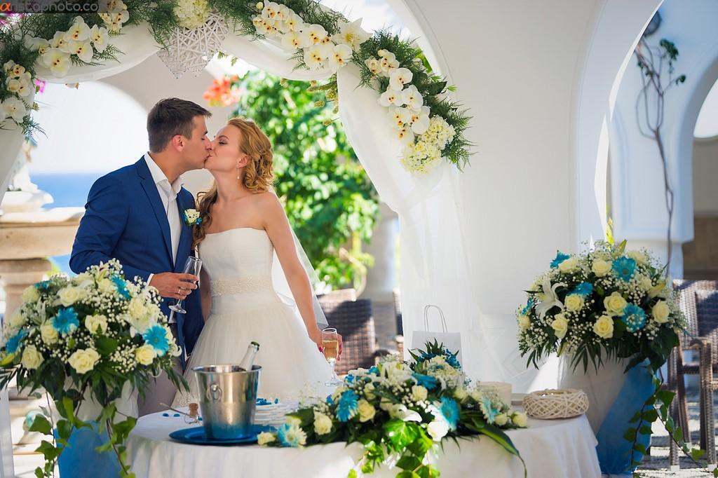 Организация свадебной церемонии в Греции