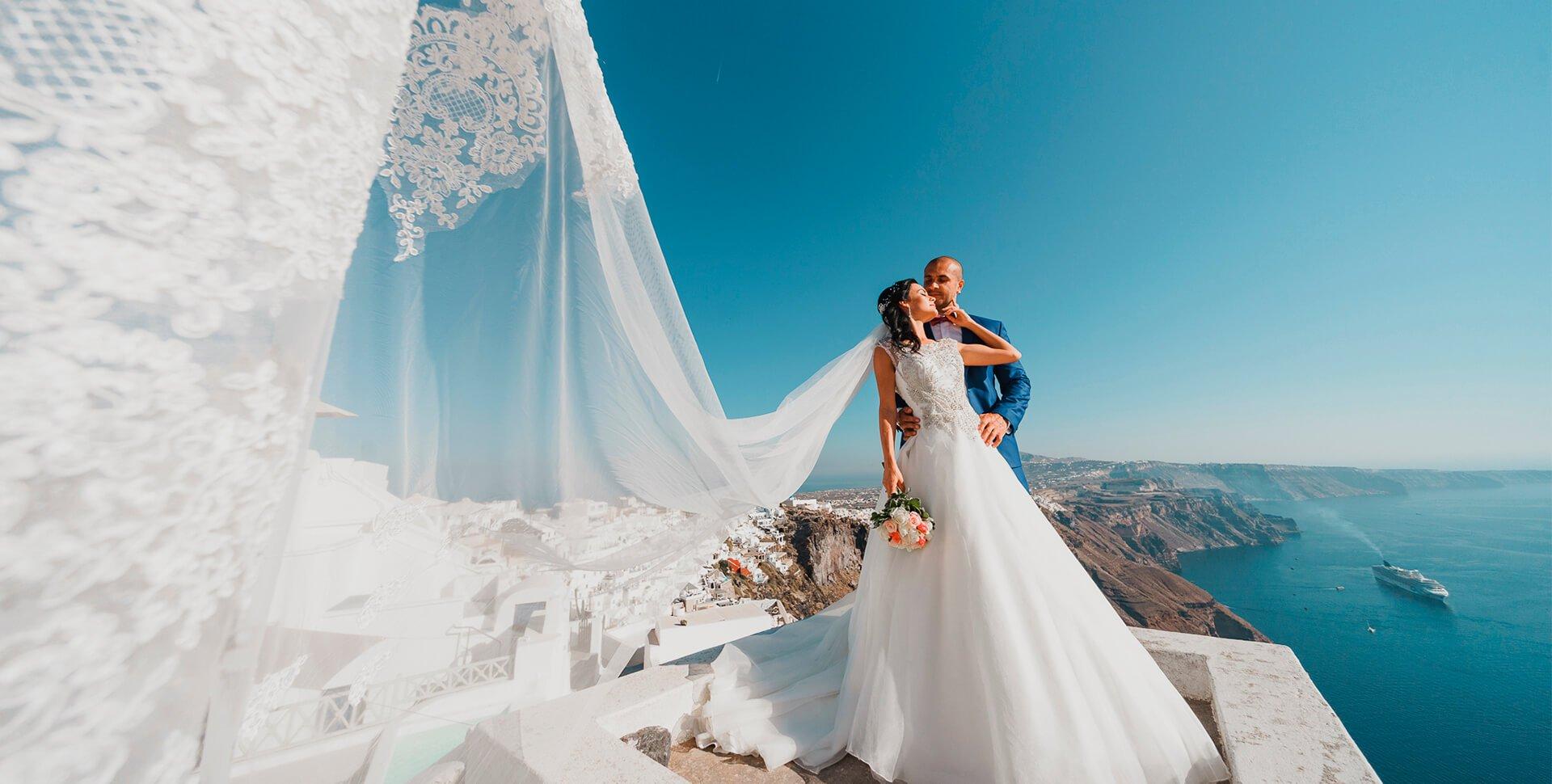 Организация свадьбы в Греции: от путешествия до фотосессии