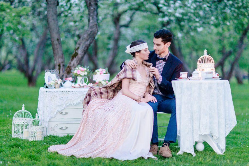 Свадьба на природе в восточном стиле