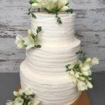 Торт на 13 годовщину свадьбы с ландышами